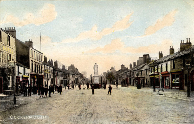 High Street Cockermouth circa 1900