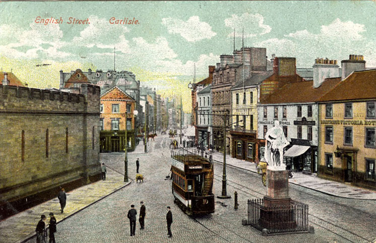 English Street, Carlisle, circa 1900