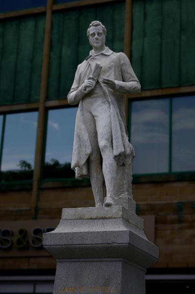 James Steel Statue, Carlisle, 2008