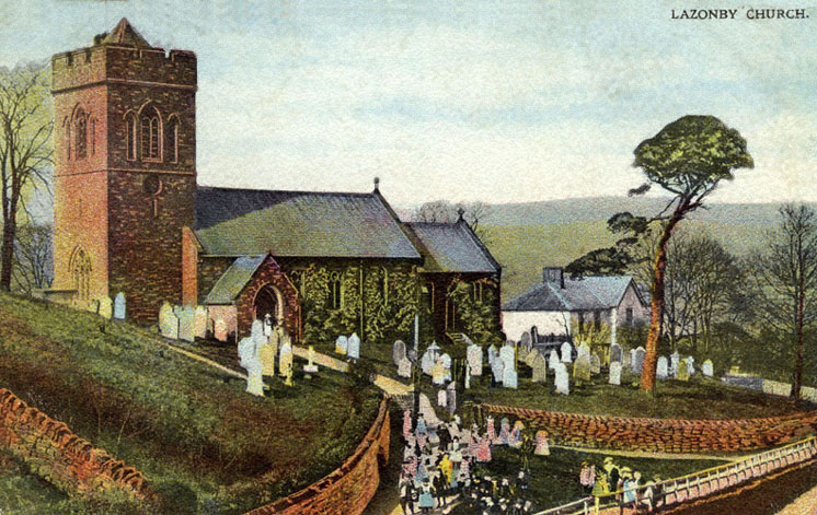 Lazonby Church, circa 1900