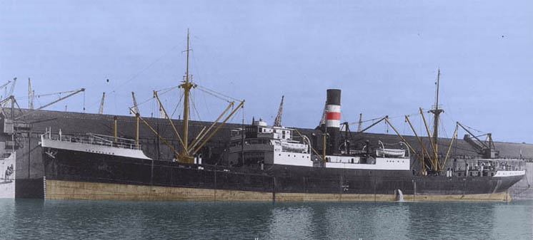 SS Traveller in Toxteth Dock, Liverpool