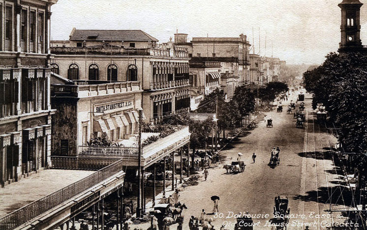 Old Court House Street, Calcutta, circa 1900