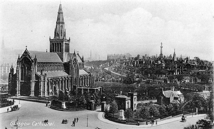 Glasgow Cathedral circa 1900