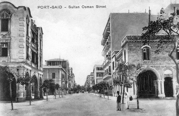 Port Said Sultan Osman street