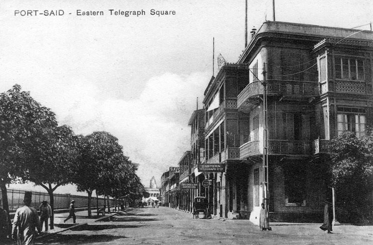 Port Said Telegraph Square